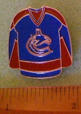 Hockey Pin - Vancouver Canucks Jersey (style (Jersey Style Pin)