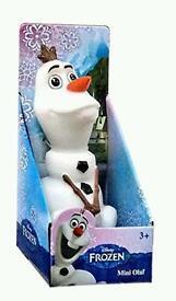 Brand new Olaf mini toddler doll