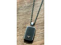Armani mens chain / necklace