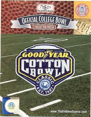 2016 2017 Goodyear Cotton Bowl Patch Wisconsin Western Michigan Official Ncaa