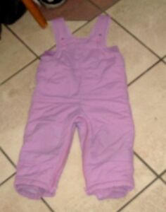 Baby Girl 18 month Winter Snow Pants, very good condition