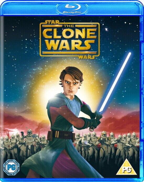 Star Wars The Clone Wars Blu Ray Region Free Movie Anakin Skywalker Animated 7321900224246 Ebay