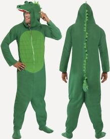 CROCODILE FANCY DRESS OUTFIT SIZE M GREAT FOR A PARTY OR STAG DO