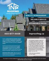Fall Roofing Special! 10% off all Roofing Services