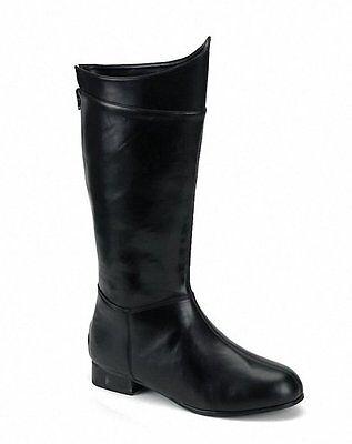 Dark Knight Boots (ELLIE 121-SHAZAM DARK KNIGHT BATMAN COSTUME XMEN WRESTLING 1