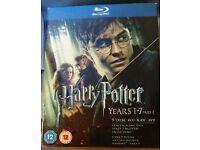 Harry Potter Blu-ray set not opened