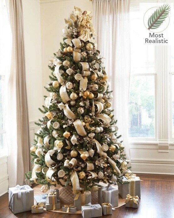 Balsam Hill Christmas Trees.Balsam Hill Christmas Tree 7 5ft Pre Lit Vermont White Spruce Tree Rrp 469 In Trafford Manchester Gumtree