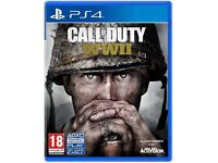 Play Station 4 Call of Duty WW2