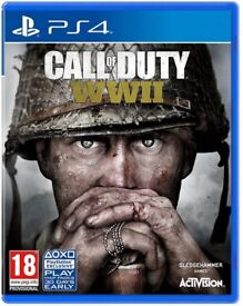 Brand new sealed Call of duty world war 2 ps4