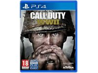 Call of Duty World War II PS4 x2