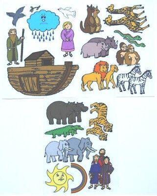 Noah's Ark Bible Story Felt / Flannel Board Set -