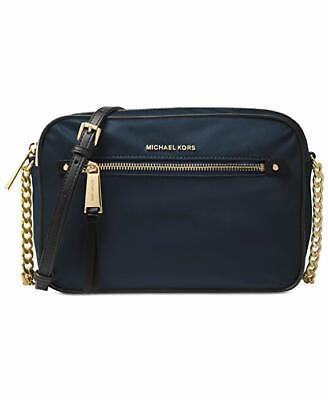 Michael Kors Polly Women's Nylon Crossbody/Shoulder Bag - Admiral Navy