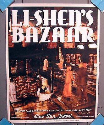 Serenity/Firefly Blue Sun Travel Poster- Li-Shen's Bazaar (SEPO-BSS2-08)