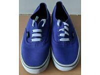 Purple Vans size 5.5