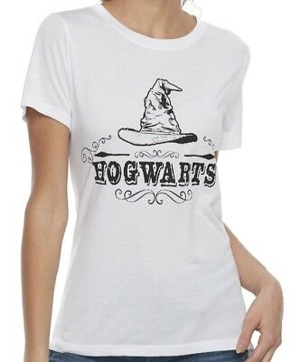 Junior's Harry Potter Hogwart's Sorting Hat Graphic Tee S M L - Harry Potter T Shirt