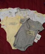 0-3 Month Girl Onesies