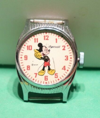 1946 US Time Mickey Mouse Ingersoll (Not Running)