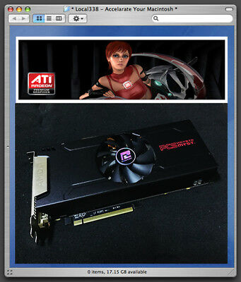 Used, AMD Apple Radeon HD7870 XT 2GB Graphics Card *Mac Pro 3,1-5,1 Mojave 10.14 *7950 for sale  Shipping to Canada