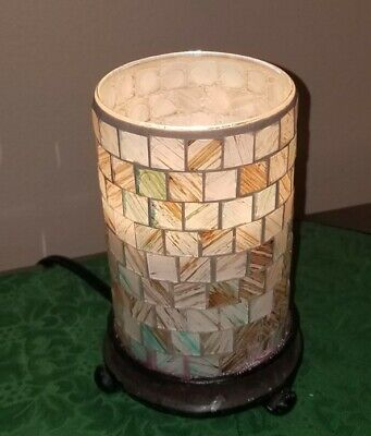 Gold Bach Mosaic Glass Goblet Wind Light Goblet in Pink 25 cm NEW