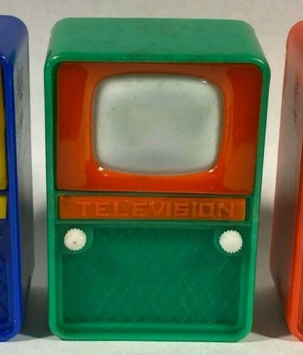 Vintage Television TV Nudie Girlie Peeper Novelty Viewer - Hong Kong - GREEN