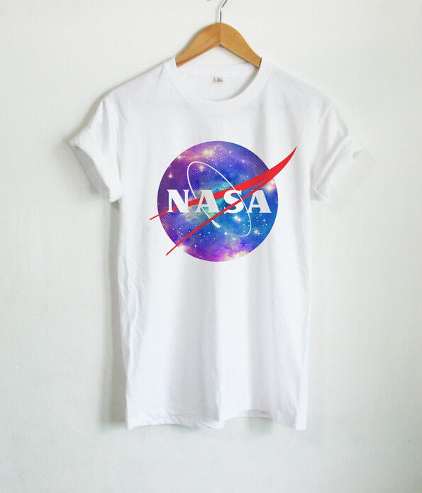 934c3cabf25ac7 Details about Nasa Logo T Shirts Nasa Galaxy Design Shirt Cute Space Unisex  Tumblr Tops Tees