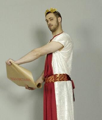 Kostüm Cäsar Römer Senator Römerkostüm Gewand Toga  46 48 50 52 54 56 - Caesar Kostüm
