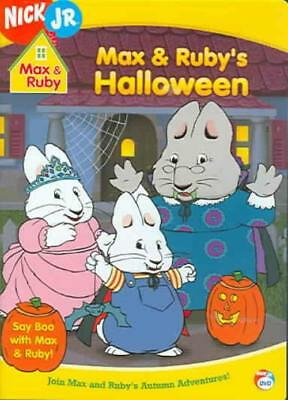 MAX & RUBY - MAX AND RUBY'S HALLOWEEN NEW DVD - Ruby And Max Halloween
