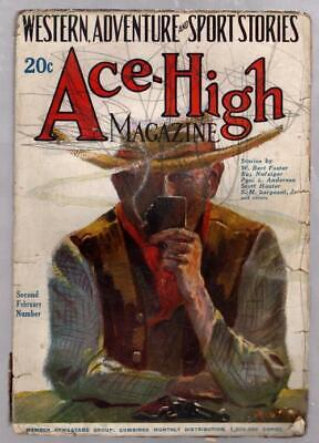 Ace-High Feb 18 1924 Dold Cover Art Pulp