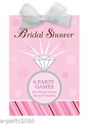 BRIDAL SHOWER PARTY GAMES BOOK - Wedding Party Supplies Activities Favors ()