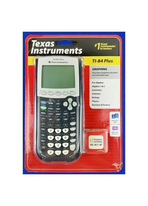 Brand New Texas Instruments TI-84 Plus Graphing Calculator B