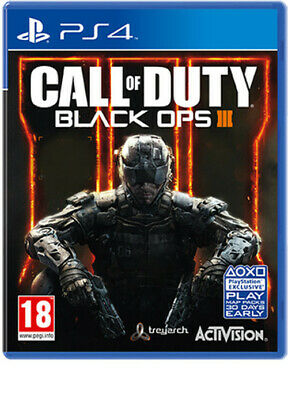 Call of Duty Black Ops III (3) PS4 Brand New Fast Delivery! segunda mano  Embacar hacia Spain