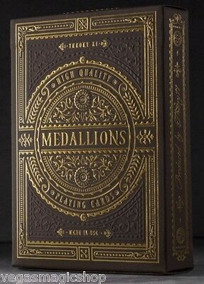 Medallions Deck Playing Cards Poker Size USPCC Theory 11 Limited Edition Sealed