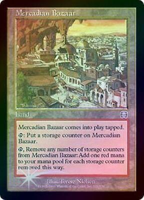 Mercadian Bazaar - Foil Played MTG Mercadian Masques Magic