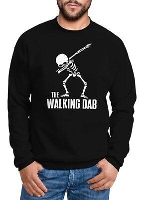 e Walking Dab Skelett Rundhals-Pullover Moonworks® (Skelett Pullover)