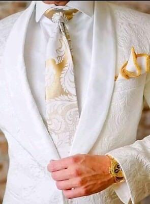 Sebastian Cruz Couture dinner jacket White