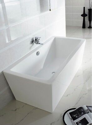 Bathtub Freestanding - Acrylic Bathtub - Soaking Tub - Gratziella Bathtub 59""
