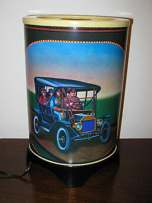 See it on You-Tube Fab1990s Visual Effects Antique Auto Motion Lamp Mint In Box