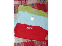 Bundle of 3 Long Sleeve Plain Tops for Girl 3-4 years. In good condition. 100% cotton.