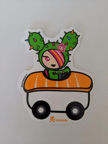 tokidoki sticker - Sandy Sushi Car