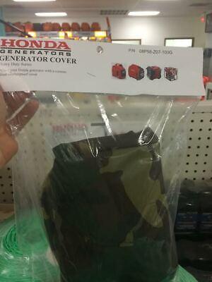 New Honda Generator Cover Eu2000i Eu2200i Camo Heavy Duty Cover 08p58-z07-100g