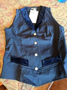 Arista riding vest - new with tags - Size L