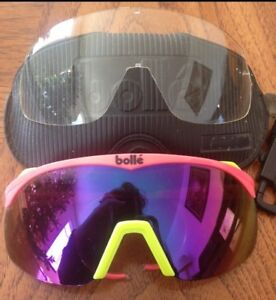 Bolle  Snowboarding Glasses. With Interchangeable Lense.
