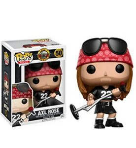 Guns and Roses Funko Pop! Axl, Slash & Duff!