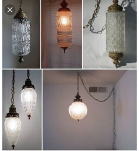 Looking for vintage/retro light fixtures