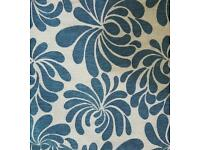 Teal cushion covers x6 nice thick material