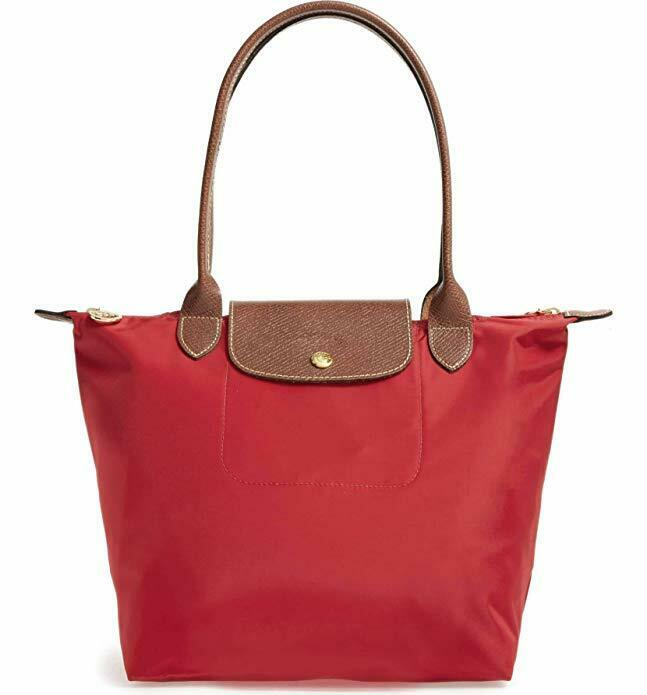 Tote Shoulder Bag - Variety of colors - Nylon - Foldable
