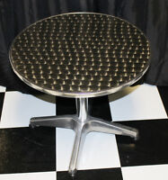 Hip Hypnotic Sparkle Round Occassional Side Table End Table