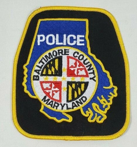 BALTIMORE COUNTY MARYLAND MD POLICE SHOULDER PATCH