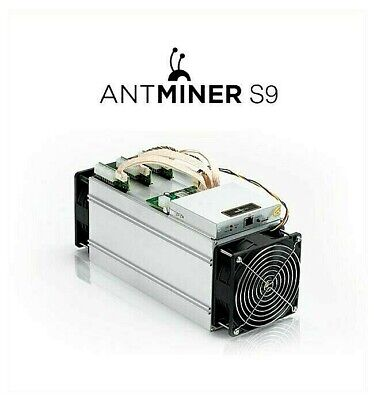 Antminer S9 13.5TH/s Bitcoin ASIC Miner - USA in hand ships immediately SSH open