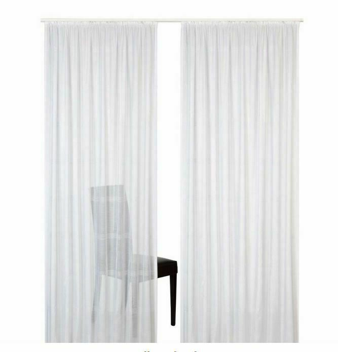 Jacquard Schlaufenschal Voile Maße: 300 x 245 cm transparent Design W67